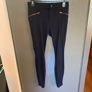 Athleta Navy Leggings Size 2